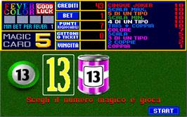 In game image of Casino Fever 5.1 on the Arcade.