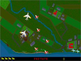 In game image of Catch-22 on the Arcade.