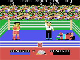 In game image of Champion Boxing on the Arcade.