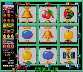 In game image of Cherry Bonus III on the Arcade.