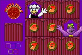 In game image of ChuckECheese's Match Game on the Arcade.