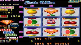 In game image of Classic Edition on the Arcade.
