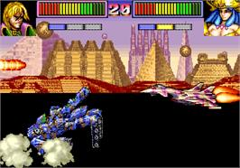 In game image of Command War - Super Special Battle & War Game on the Arcade.