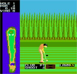 In game image of Competition Golf Final Round on the Arcade.