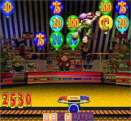 In game image of Crazzy Clownz on the Arcade.