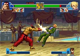 In game image of Crouching Tiger Hidden Dragon 2003 on the Arcade.