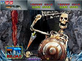 In game image of Crypt Killer on the Arcade.
