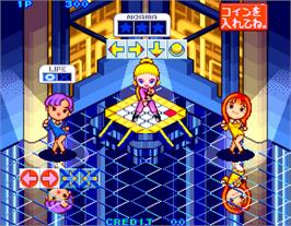 In game image of Daisu-Kiss on the Arcade.