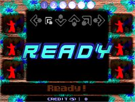 In game image of Dance Dance Revolution Solo Bass Mix on the Arcade.