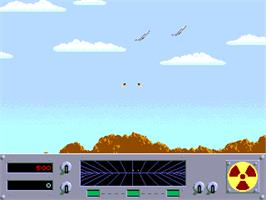 In game image of Danger Zone on the Arcade.