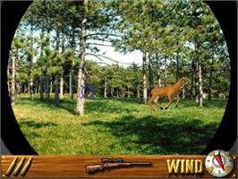 In game image of Deer Hunting USA V4.2 on the Arcade.