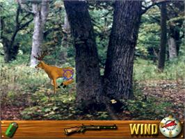 In game image of Deer Hunting USA V4.3 on the Arcade.