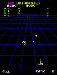 In game image of Devil Zone on the Arcade.
