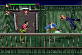 In game image of Die Hard Arcade on the Arcade.