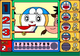 In game image of Doraemon no Eawase Montage on the Arcade.