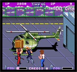 In game image of Double Dragon II - The Revenge on the Arcade.