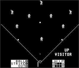 In game image of Double Play on the Arcade.