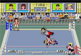In game image of Dump Matsumoto on the Arcade.