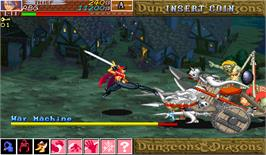 In game image of Dungeons & Dragons: Shadow over Mystara on the Arcade.
