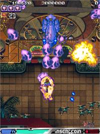 In game image of ESP Ra.De. on the Arcade.