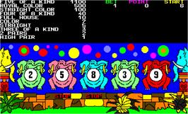 In game image of Elephant Family on the Arcade.