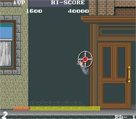 In game image of Empire City: 1931 on the Arcade.