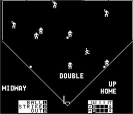 In game image of Extra Inning on the Arcade.