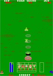 In game image of Field Combat on the Arcade.