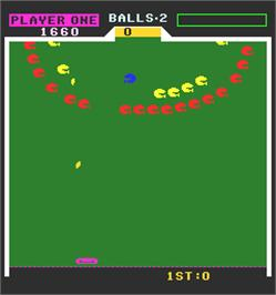 In game image of Field Goal on the Arcade.