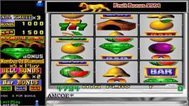 In game image of Fruit Bonus 2004 on the Arcade.