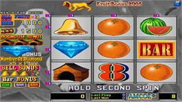 In game image of Fruit Bonus 2005 on the Arcade.