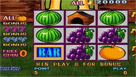 In game image of Fruit Bonus 2006 Special Edition on the Arcade.