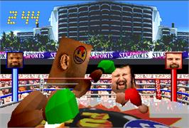 In game image of Funky Head Boxers on the Arcade.