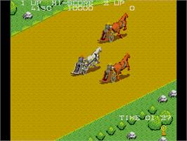 In game image of Gladiator 1984 on the Arcade.