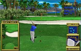 In game image of Golden Tee '97 on the Arcade.