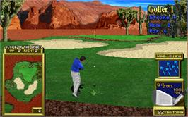 In game image of Golden Tee '97 Tournament on the Arcade.