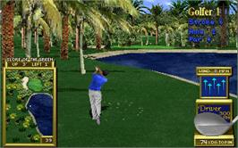 In game image of Golden Tee '98 on the Arcade.