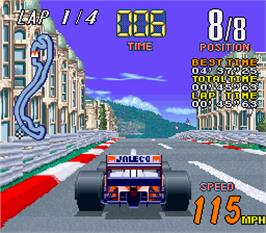 In game image of Grand Prix Star on the Arcade.