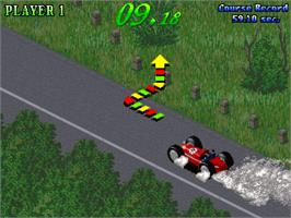 In game image of Great 1000 Miles Rally: Evolution Model!!! on the Arcade.