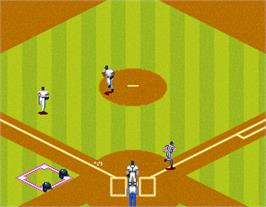 In game image of Great Sluggers '94 on the Arcade.