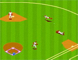 In game image of Great Sluggers on the Arcade.