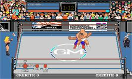 In game image of Grudge Match on the Arcade.