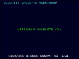 In game image of Guitar Freaks 3rd Mix - security cassette versionup on the Arcade.