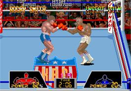 In game image of Hard Puncher on the Arcade.