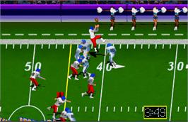 In game image of High Impact Football on the Arcade.