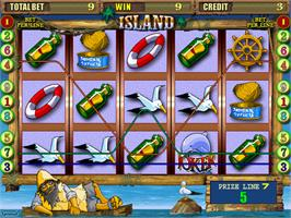 In game image of Island on the Arcade.