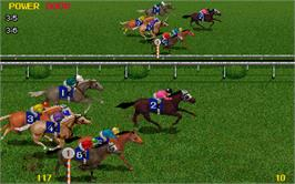 In game image of Jockey Club on the Arcade.