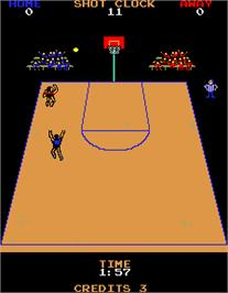 In game image of Jump Shot on the Arcade.