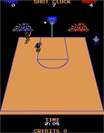 In game image of Jump Shot Engineering Sample on the Arcade.