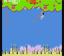 In game image of Jungle Boy on the Arcade.